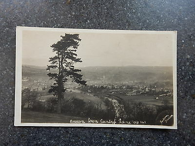 Early Jackson Postcard- Nice view of Brecon from country lane - Powys Wales