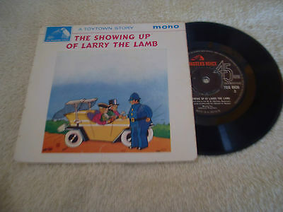 """A Toytown Story.....the Showing Up Of Larry The Lamb.....7"""" Ep..p/s..1963"""