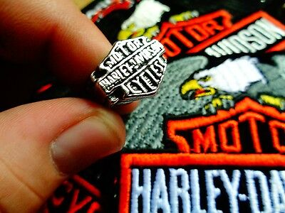 Vintage Harley Davidson Ring Factory HD Motorcycle Dealership Jewelry Size 10