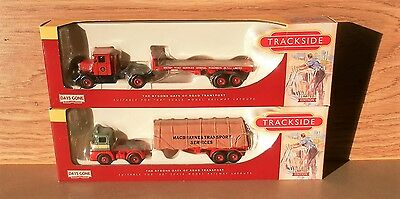 2 New & boxed Trackside vehicles
