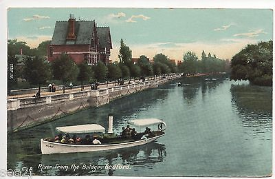 Bedford, River From The Bridge  ------ Top 59