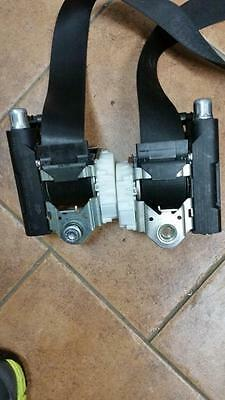 Vw Polo 6R 3 Door Front Seatbelts (Pair) Seat Belt Left +Right With Pretensioner