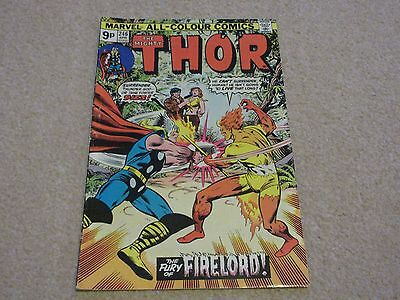 THE MIGHTY THOR -No 246- April 1976-Marvel Comics-The fury of Firelord