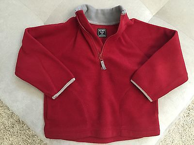 Baby Boy Sweatshirt Sweater Red 4T Old Navy