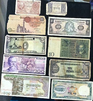 WORLD WIDE Paper Money Lot