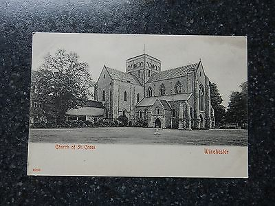 Early Stengel postcard- Church of St Cross - Winchester - Hampshire
