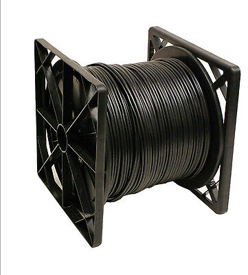 4X500FT RG59 Siamese 20AWG + 2C/18AWG Coaxial Cable CCTV Black Color