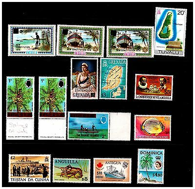 Caribbean Selection Stamps. Mint/Mounted.  #779