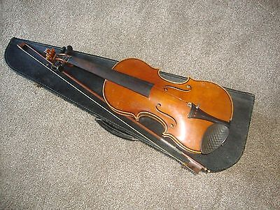 vintage VIOLIN, BOW and CASE