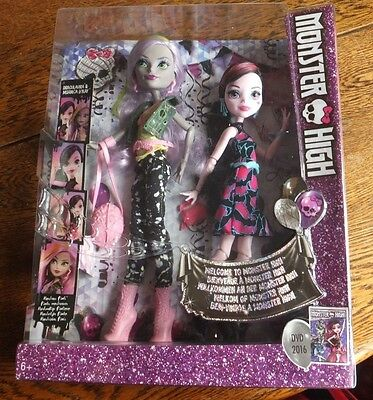 Monster High - Draculaura & Moanica D'Kay - Dance the Fright Away 2 Doll Pack
