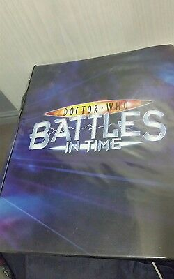 Doctor Who Battles In Time Folder 198 Cards!!
