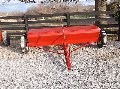 USED 8 FT INTERNATIONAL. Spreader/Seeder*Can ship cheap! Just ask us for a quote