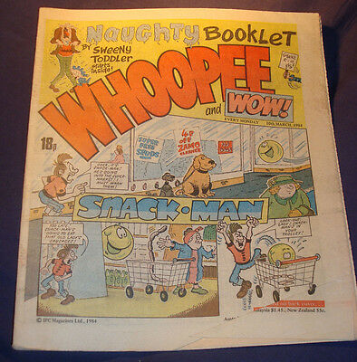 Whoopee and Wow Comic from 10/3/1984
