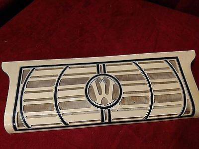 "Cream Wurlitzer Accordion Repair Part - Treble Grill 17.25"" x 6"" x 1.5"""