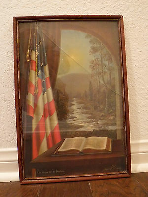 "Original Framed Print ""The Hope of A Nation"" by James M Haines"