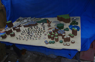 Heroscape Lot 11 Pounds Including 58 Figures - See Pictures!!