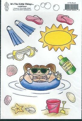 It's the Little Things - 'At The Beach' Stickers
