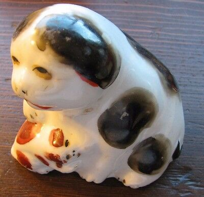 """Japanese Porcelain dog 4.25 """" by 4.1 in."""
