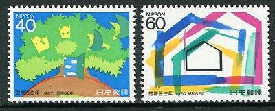 International Year Of Shelter For The Homeless 1987 - Muh Set Of Two (G118-Rr)