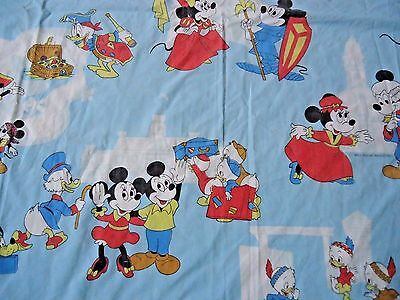 Disney Mickey Mouse Twin Sheet Vintage