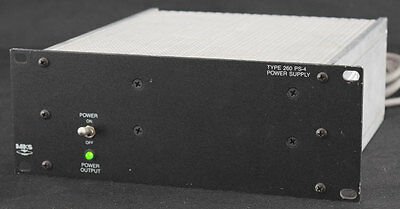 MKS Instruments Type 260 PS-4 Power Supply Unit Module Industrial