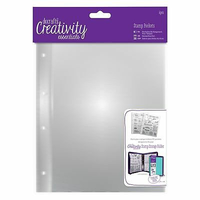 Docrafts Creativity Essentials A5 Stamp Storage Pockets DCE105901