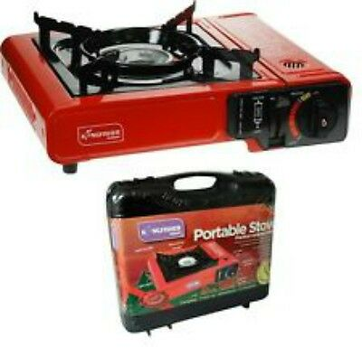 Portable Gas Camping Cooker Stove Burner Barbecue BBQ Outdoor Butane Case**NEW