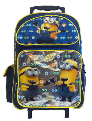 Despicable Me Minions Look At You 16 Inches Rolling Backpack