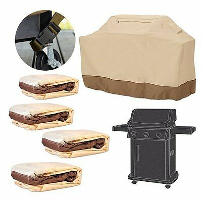 New Burner Waterproof BBQ Cover Gas Charcoal Barbeque Grill Protector M,L,XL,XXL