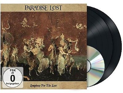 PARADISE LOST Symphony For The Lost - 2LP / Black Vinyl + DVD (Gatefold Sleeve)
