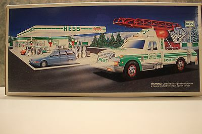 1994 Hess Rescue Truck NEW IN BOX Free Shipping