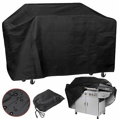 New 4 Burner Waterproof BBQ Cover Gas Charcoal Barbecue Grill Protector XS to XL