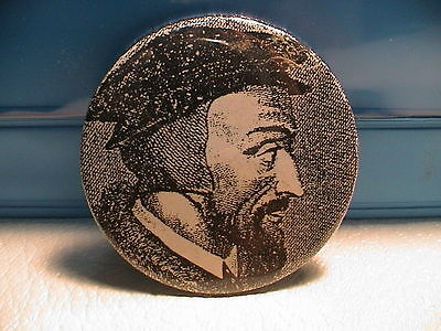 Michelangelo Italy Italian Painter Artist Self Pictorial Pin Pinback