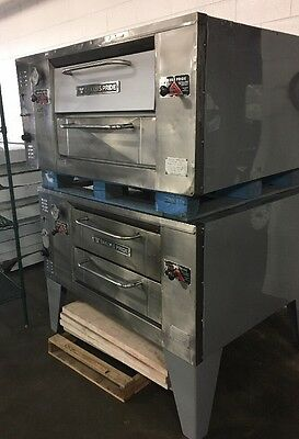 Bakers Pride Double Deck Pizza Oven With Stones