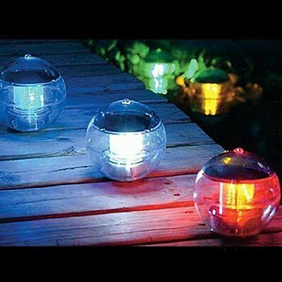 7 Colors Solar LED Light Lamp Floating Pond Ball Garden Fountain Pool Nightlight