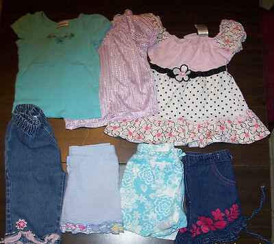 Girls Clothes size 2T 24 Mo Tops Bottoms Skorts Lot Young Hearts Kid Connectiion