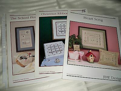 "Jbw*designs ""the*school*house*samplers""  Counted Cross~Stitch Chart"