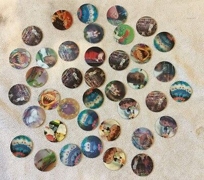 Bulk 41 Space Jam Movie Motion Tazos In Great Condition