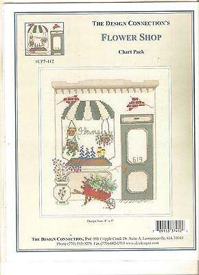 "The*design*connection ""flower*shop"" Counted Cross~Stitch Chart"