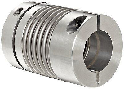 "Lovejoy 76982 Size BWLC-63 Bellows Clamp, 0.625"" Bore A, 0.75"" Bore B, 1.772"" OD"