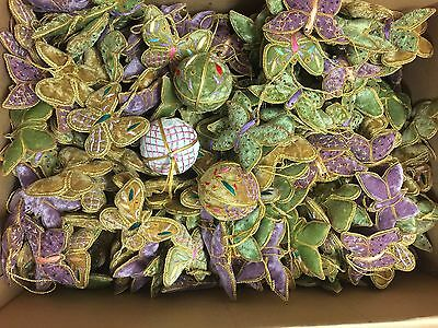 Scented Butterfly & Ball Cushions 100 Bulk