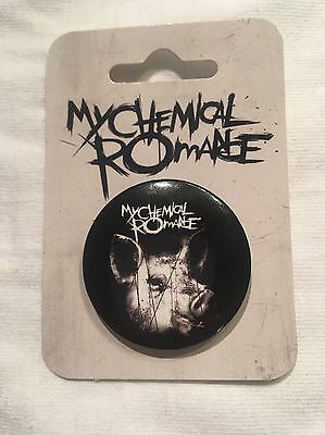 My Chemical Romance Pin set And Car Decal Sticker Danger Days The Black Parade