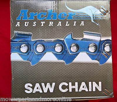 Archer Chromed Tooth Chainsaw Chain 25 & 100 Foot Rolls - 3/8Lp, .325, 3/8 Std