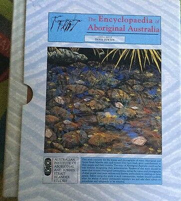 Encyclopedia of Aboriginal Australia 2 volumes in slip case 1994 ed David Horton