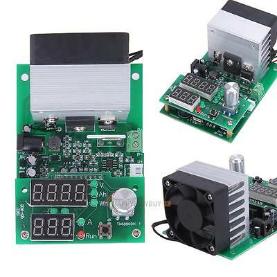 DC12V Constant Current Electronic Load 9.99A 60W 1-30V Battery Capacity Tester