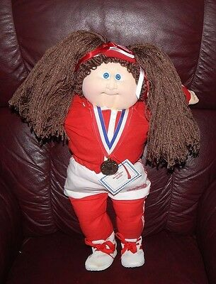 1984 Cabbage Patch World Class Edition Soft Sculpture Large Doll Rare