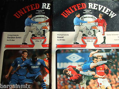 Manchester United HOMES 1996/97