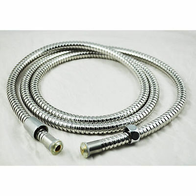3m extra long stainless steel shower pipe flexible bath hose pipe