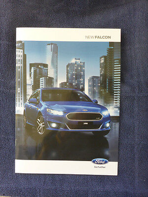 New Ford Falcon 2015 Dealership Sales Brochure 14 Pages