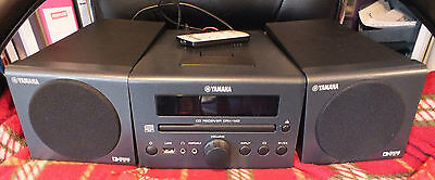 Yamaha CRX-140, CD/USB/FM/DAB Unit with Speakers & Remote (used)